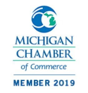 Michigan Chamber of Commerce logo Member 2019